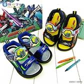 童鞋城堡-E5隼號 LED電燈涼鞋 新幹線變形機器人 SK3795 藍/黑 (共二色)