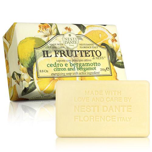 Nesti Dante  義大利手工皂-天然鮮果系列-檸檬和佛手柑(250g) 【ZZshopping購物網】
