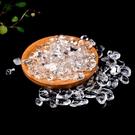 透亮白水晶碎石水晶消磁石