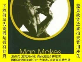 二手書博民逛書店Man罕見Makes Himself (new Thinker s Library) (new Thinker s