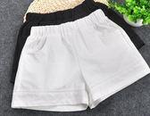 女童短褲夏季白色薄款休閒短褲外穿寬鬆百搭