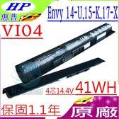 HP VI04 電池(原廠)-惠普 14-U,15-K000,15-K099,15-X000 15-X099,17-X000,17-X999,HSTNN-DB6I,HSTNN-DB6K,G6E88AA