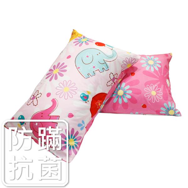 鴻宇 防蟎枕套2入 心心象印 防蟎抗菌 美國棉授權品牌 台灣製1851