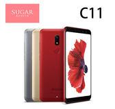 糖果時尚手機 SUGAR C11全螢幕手機5.7吋 4G/64G-金~贈果凍套+玻璃保貼[24期零利率]