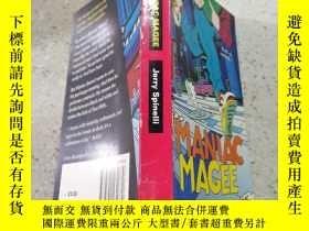 二手書博民逛書店maniac罕見magee瘋子mageeY200392