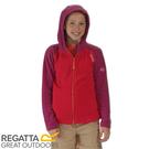 【REGATTA 英國 兒童 亞佛170刷毛保暖衣《紅/紫》】RKA185/透氣快乾/連帽外套/運動夾克