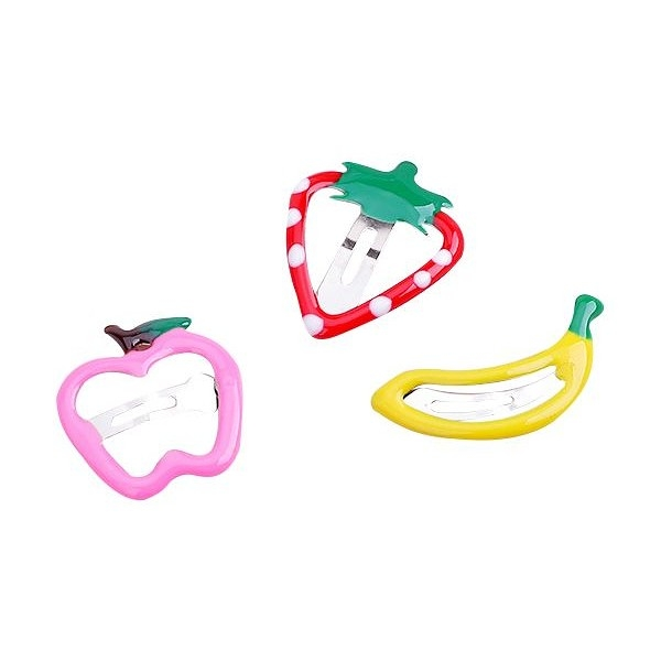 水果造型兒童BB髮夾(5入) 款式隨機出貨【小三美日】髮飾/髮夾