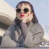 太陽眼鏡新款太陽眼鏡女潮ulzzang明星網紅款方圓臉墨鏡韓國個性【快速出貨】