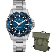 Hamilton Khaki 海軍系列陶瓷錶圈機械錶(H82505140)43mm