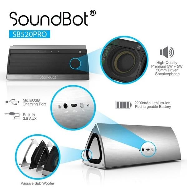 藍芽喇叭 美國SoundBot SB521 3D環繞藍芽音響 藍牙喇叭 sony JBL beats Bose