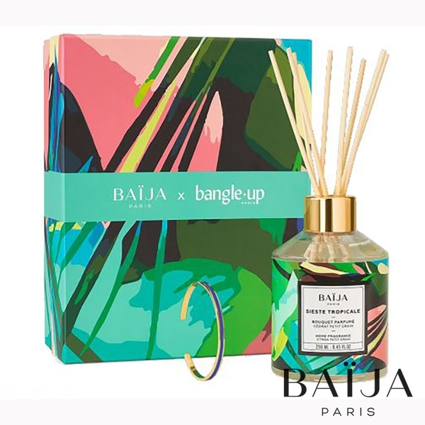 Baija X Bangle up 伊甸園 禁果香氛珠寶禮盒 伊甸綠/白砂/紫藤花 Baija Paris