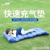 水帝充氣墊戶外睡墊床墊便攜加厚野餐防潮墊野外單人地墊露營墊子 NMS生活樂事館