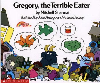 【麥克書店】『小熊媽的經典英語繪本』GREGORY THE TERRIBLE EATER /英文繪本