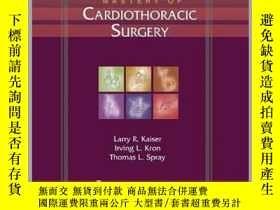 二手書博民逛書店Mastery罕見of Cardiothoracic Surgery, 2eY16798 Kaiser, La