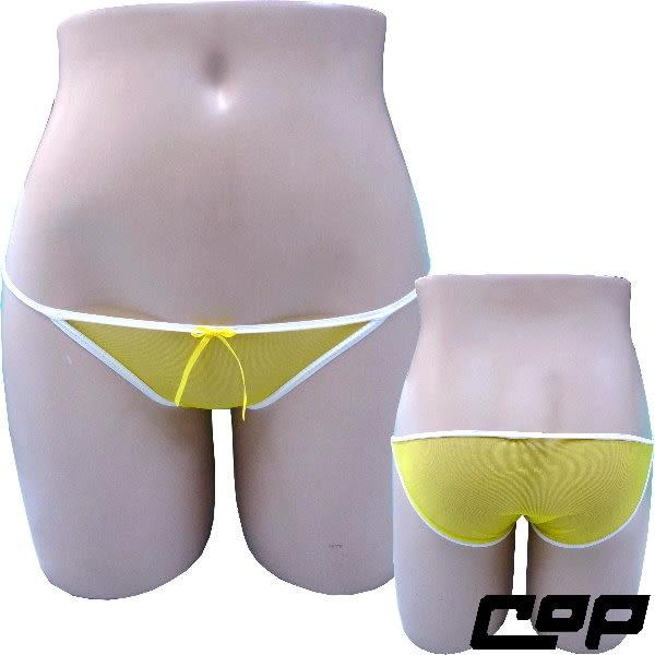 女內褲(COP)F684-黃色-F