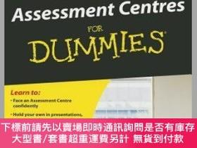 二手書博民逛書店預訂Succeeding罕見At Assessment Centres For DummiesY492923