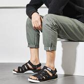 涼鞋 休閒沙灘鞋 百搭平底鞋【非凡上品】nx2448