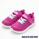 Skechers COMFY FLEX 粉x土耳其藍 小童鞋 NO.R2883