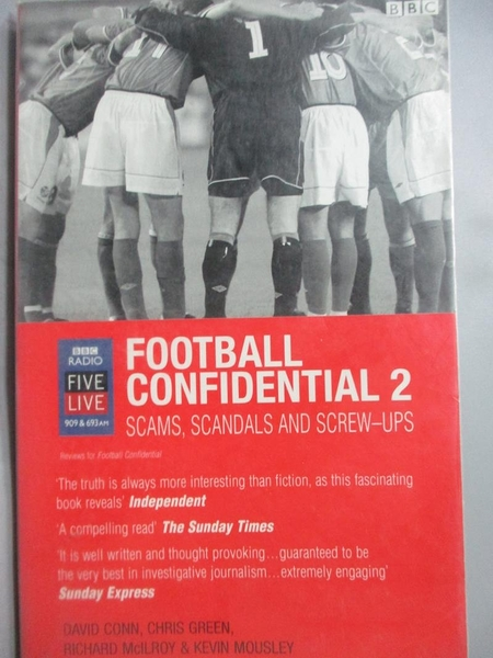 【書寶二手書T3/體育_HNN】Football Confidential_Kevin Mousley