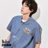 STAYREAL x The Beatles 黃色潛水艇短袖襯衫