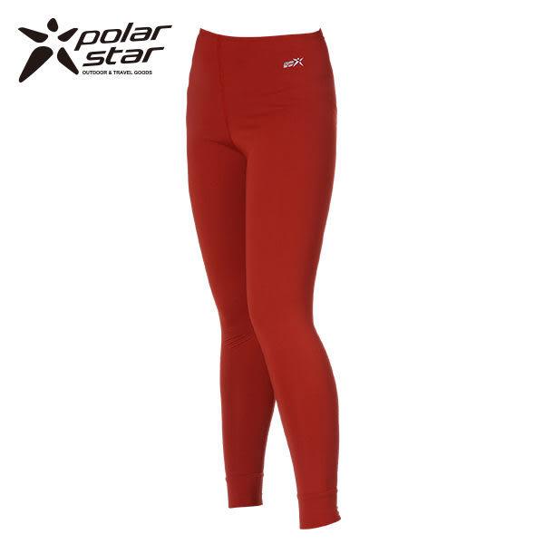 Polarstar 女排汗│遠紅外線│保暖褲 P13432『棗紅』