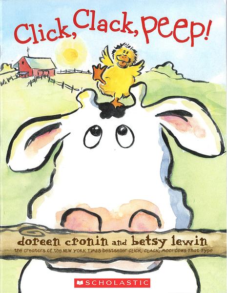 【麥克書店】CLICK, CLACK, PEEP!/ 英文繪本《主題:幽默趣味 》