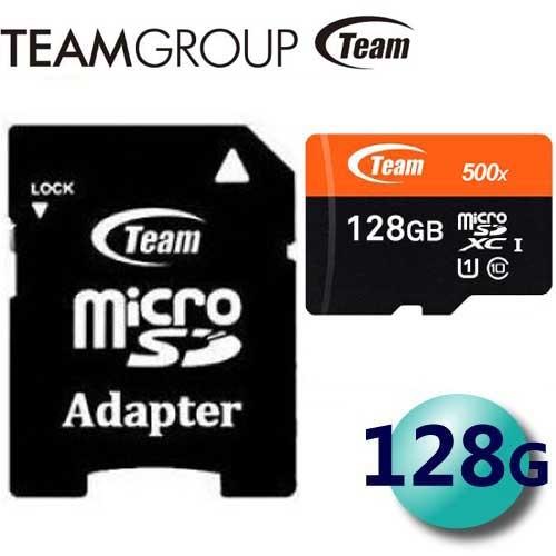 Team 十銓 128GB 128G 80MB/s microSDXC TF U1 C10 記憶卡