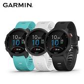 Garmin Forerunner 245M血氧感測-GPS腕式心率音樂跑錶白色