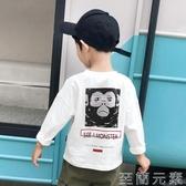 男童短袖t恤童裝新款夏裝洋氣兒童純棉半袖體恤大童韓版上衣 至簡元素