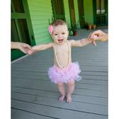RuffleButts PP包屁短褲 粉色紗褲 | 女寶寶褲子(嬰幼兒/兒童/小孩)