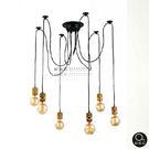 吊燈★LOFT工業風 多變排列造型吊燈 6燈✦燈具燈飾專業首選✦歐曼尼✦
