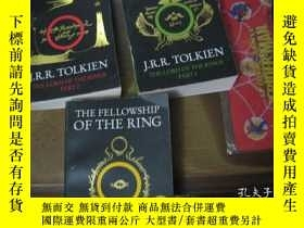 二手書博民逛書店The罕見Fellowship of the Rin 1-3 3本和售Y10980 The Fellowshi