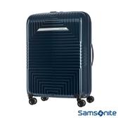 Samsonite新秀麗 28吋D200 幾何圖形可擴充硬殼行李箱(藍)
