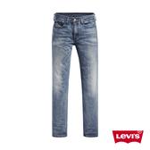 Levis 男款 514低腰合身直筒牛仔褲 / 作舊刷白 / 彈性布料