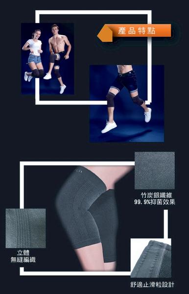 【能量銀行家】京美 能量銀纖維-長效護膝 (1雙)