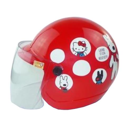 【東門城】KK 華泰 K856/K857 KITTY聯名款 兒童半罩安全帽(7412.7413)