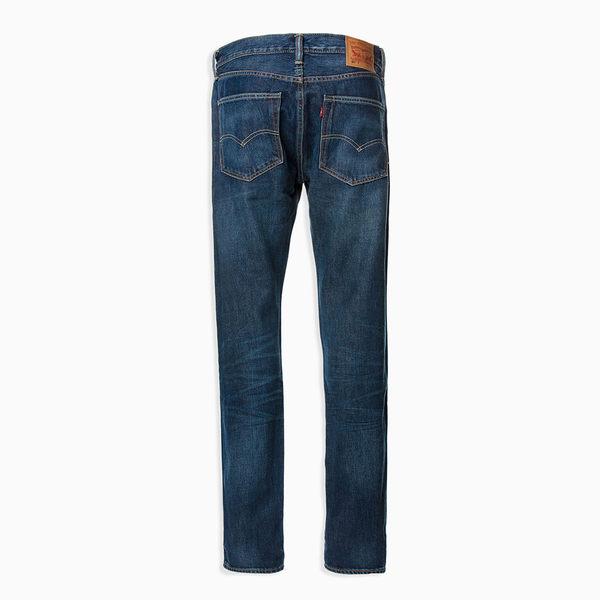 [第2件1折]Levis 男款 上寬下窄 / 501 Taper 排扣牛仔長褲 / 赤耳 / 彈性布料
