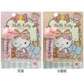 Hello Kitty 嫩色潤唇膏(3.5g) 玫瑰/水蜜桃/蘋果/草莓 4款可選【小三美日】三麗鷗正版授權