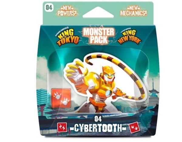 『高雄龐奇桌遊』 東京之王/紐約怪物包 電子虎 Monster Pack Cybertooth 英文版 正版桌上遊戲專賣店