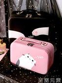 化妝包化妝包小號便攜可愛女大容量品網紅ins風超火收納盒箱手提隨身袋 至簡元素