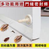 樂嫚妮 防蟲門縫 門底門窗密封條 5米 半透明