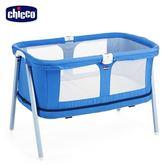chicco-Lullago Zip可攜式兩段嬰兒床-寧靜靛藍