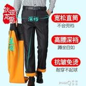 爸爸褲子秋冬季加絨加厚中年男士休閒褲寬鬆中老年人西裝褲40歲50  (pink Q時尚女裝)