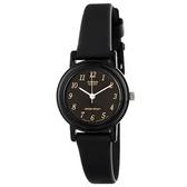 CASIO 超薄經典優雅指針錶-數字黑面(LQ-139AMV-1L)