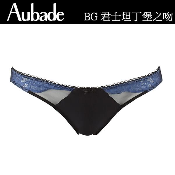 Aubade-君士坦丁堡之吻S三角褲(藍)BG