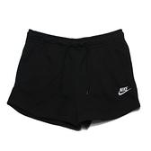 NIKE 短褲 W SPORTSWEAR 黑色 刺繡 棉質短褲 女(布魯克林) CJ2159-010