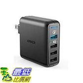 [106 東京直購] Anker A2040111 USB充電器 PowerPort Speed 4 (QC3.0、43.5W 4-port) iPhone/iPad/Android