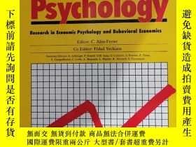 二手書博民逛書店journal罕見of economic psychology 2019年8月 英文版Y42402