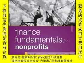 二手書博民逛書店Finance罕見Fundamentals for Nonprofits: Building Capacity a