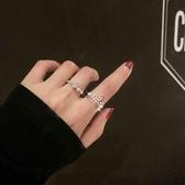 網紅可調節食指戒指女日式輕奢簡約食指小眾設計潮  育心小館